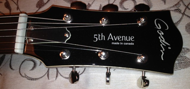 Guitare Godin 5th Avenue